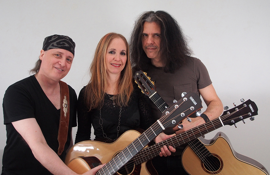 Bruce Arnold Jane Getter Alex Skolnick Guitar Trio