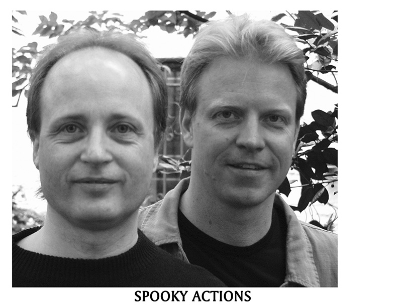 Spooky Actions Bruce Arnold John Gunther